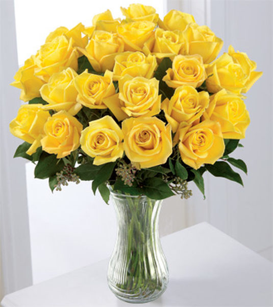Yellow roses flower fresh flowers in dubai yellow roses flower mightylinksfo