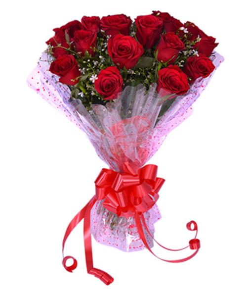 12 Red roses Valentine