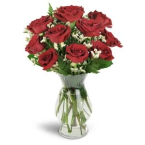 12 red roses for valentine